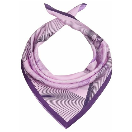 Платок Dr.Koffer S810706 100% шелк фиолетовый