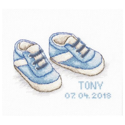 Купить Набор для вышивания «Ботиночки», 12, 5x8 см, Luca-S, B1138, Наборы для вышивания
