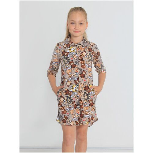 Фото - Платье-туника Раяна-1, 11л(146) платье туника panicale платье туника