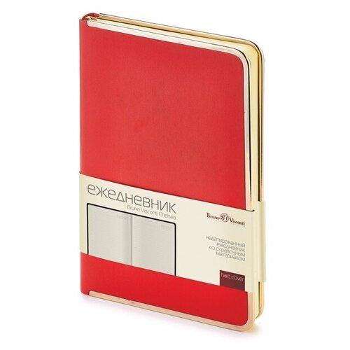 Купить Ежедневник А5 недатированный «Chelsea», красный, Bruno Visconti, Ежедневники