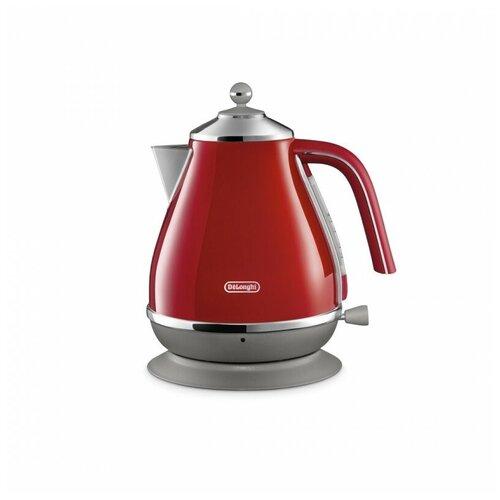 Чайник De'Longhi KBOC 2001.R, red