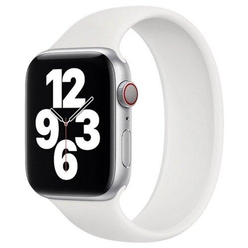 Аксессуар Ремешок Activ для APPLE Watch 42/44mm White 4690001256993 аксессуар ремешок activ для apple watch 42 44mm sport n s grey white 107235