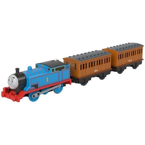 Thomas and Friends Поездной состав моторизованный Лучшие моменты Томас и пассажирские вагончики GPJ57