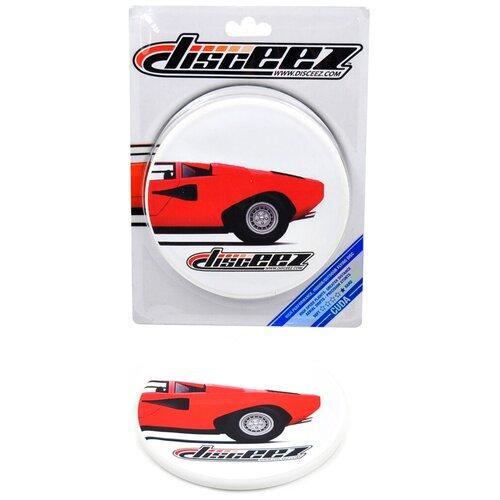 8176017 Летающий диск (силиконовый), жесткость 5 из 5, для игры в помещении и на улице, т.м. DISCEEZ