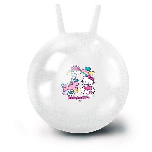 Фото - Мяч-попрыгун ЯиГрушка Hello Kitty, 50 см, белый мяч яигрушка hello kitty 15 см розовый желтый