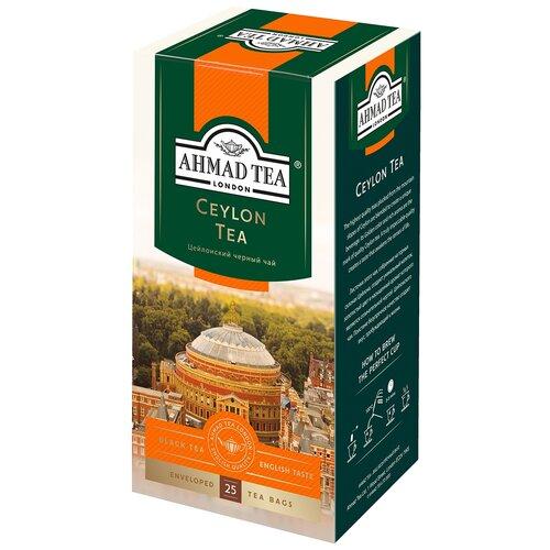 Чай черный Ahmad Tea Ceylon в пакетиках, 25 шт. чай ahmad tea ceylon tea op черный 100 г