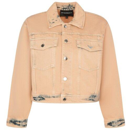 Куртка EMPORIO ARMANI, размер M (42 IT), розовый