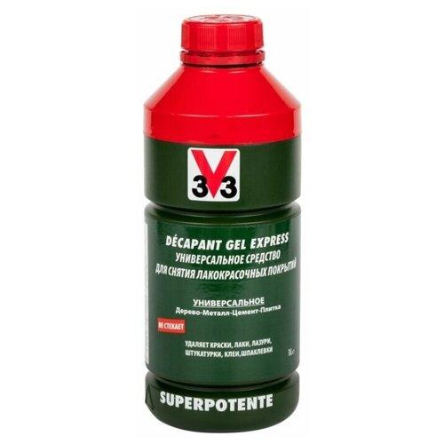 Средство для снятия лакокрасочных покрытий DECAPANT 3V3 1 л