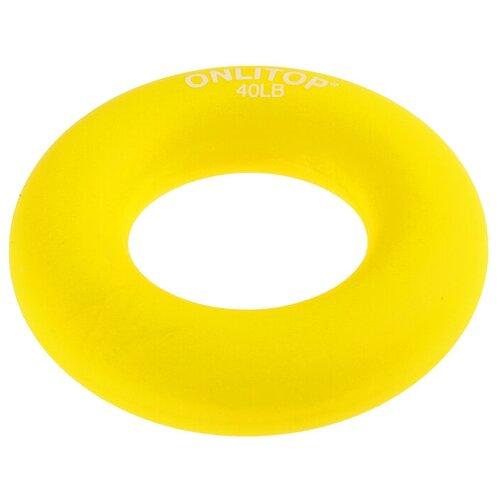 Эспандер кистевой Onlitop 3791393 8.5 х 8.5 см желтый