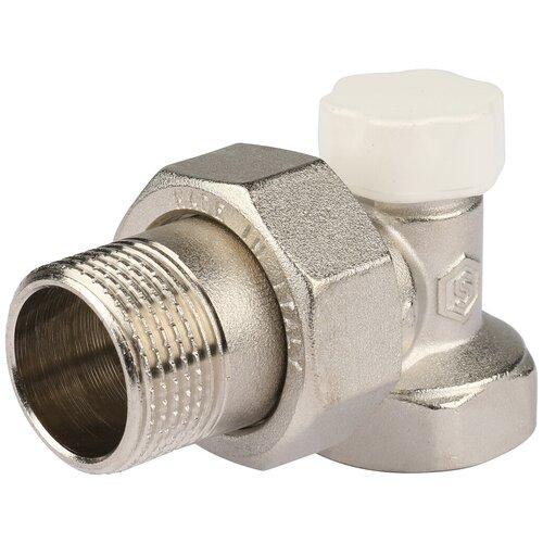 Фото - Запорный клапан STOUT SVL 1156 муфтовый (ВР/НР), латунь, для радиаторов Ду 20 (3/4) запорный клапан зубр ширефит 51571 20 муфтовый вр вр ду 20 3 4