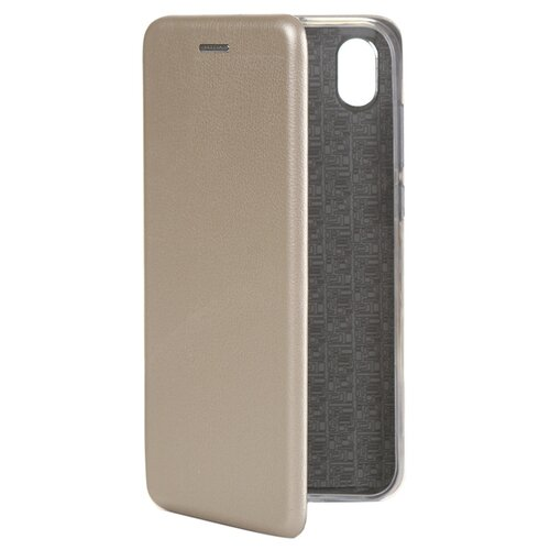 Чехол Innovation для Huawei Y5 2019 / Honor 8S Book Silicone Magnetic Gold 15436 чехол innovation для huawei 7а y5 prime book silicone magnetic blue 14715 16755