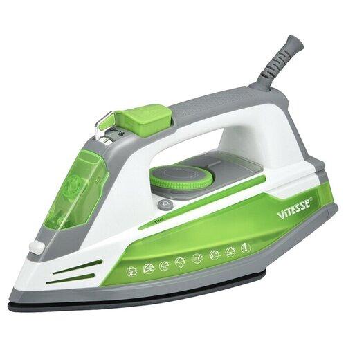Фото - Утюг Vitesse VS-6004 зеленый/серый/белый утюг galaxy gl6109 зеленый белый серый