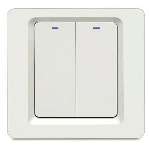 Фото - Умный встраиваемый Wi-Fi выключатель HIPER IoT Switch B02 умный wi fi модуль выключатель hiper iot switch m02 белый hdy sm02