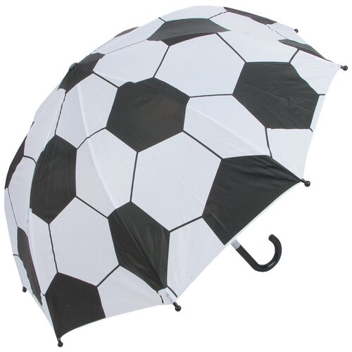 Зонт Mary Poppins белый/черный