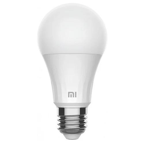 Лампа светодиодная Xiaomi Mi Smart LED Bulb Warm White (XMBGDP01YLK), E27, 8Вт лампочка xiaomi mi smart led bulb warm white gpx4026gl