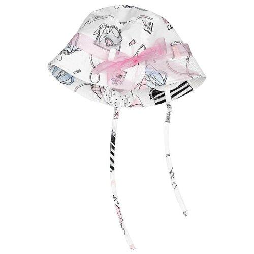 Купить Панама Gulliver Baby размер 48-50, белый, Головные уборы