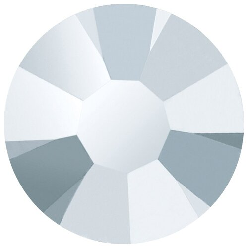 Купить Стразы клеевые PRECIOSA Crystal AB, 3, 2 мм, стекло, 144 шт, серебро (438-11-615 i), Фурнитура для украшений