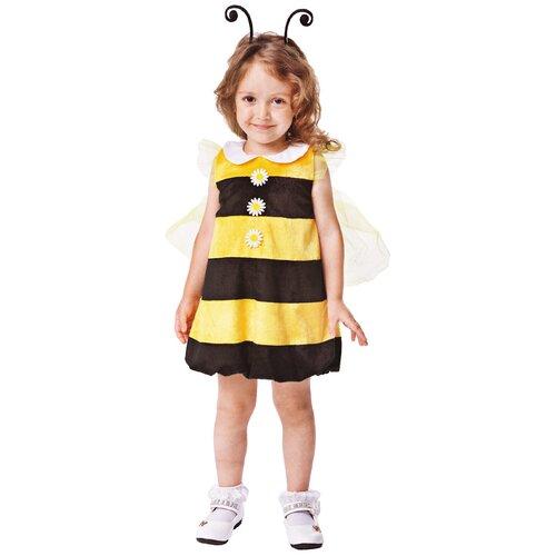 Купить Костюм Батик Пчелка Жужа (942 к19), желтый/черный, размер 104, Карнавальные костюмы