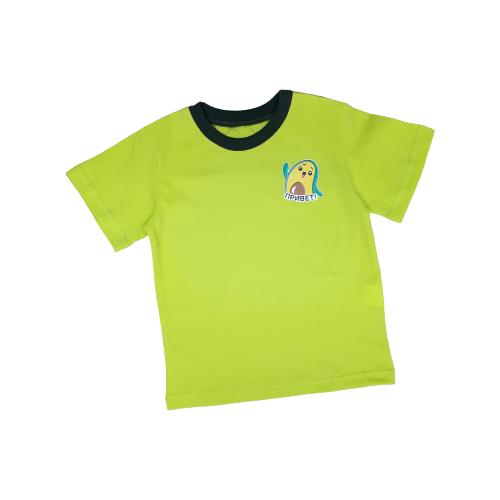 Купить Футболка Золотой ключик, размер 98 (26), светло-зеленый, Футболки и майки