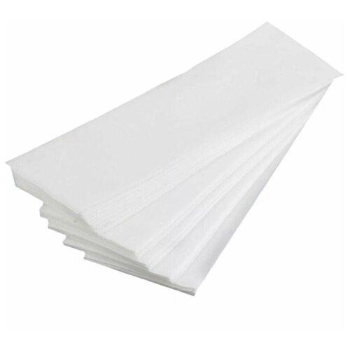 Купить Полоски для депиляции одноразовые спанбонд белые 7x20 см. 100 шт/упак., 1-Touch