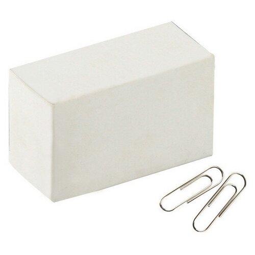 Купить Скрепки Attache Economy, 28, никелевое, овальная, 100 шт (серебристый), Скрепки, кнопки