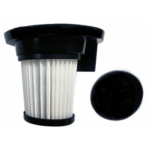 Набор фильтров для пылесоса Pioneer F10VC, HEPA фильтр + спонж (подходит для пылесоса Pioneer VС460S)