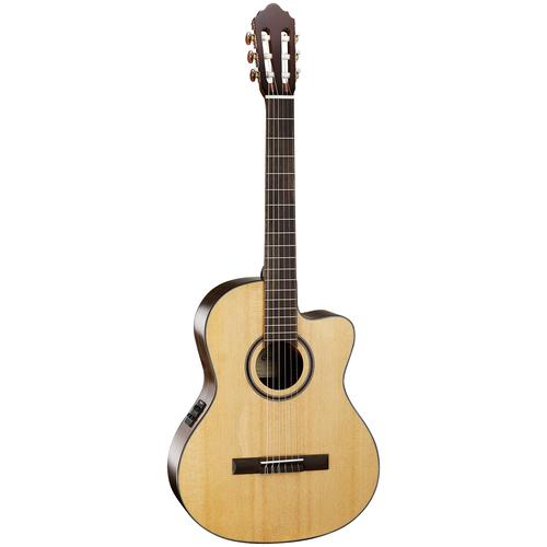 Электроакустическая гитара Cort AC160CF Natural Glossy электрогитара cort x500