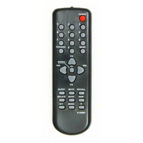 Фото - Пульт ДУ Huayu R-40B07 для телевизоров Daewoo 20Q1M/14Q2M/21Q3MT/14T1MT/20T1M/20Q3MT, черный пульт huayu для daewoo r 48a01