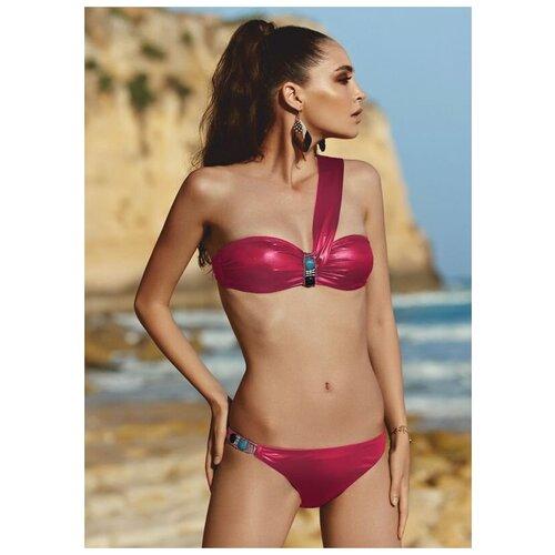 Paphia Эффектный купальник-бандо, розовый, 38