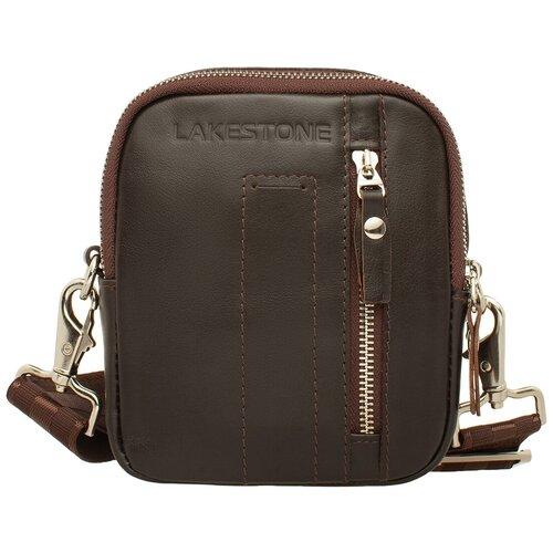 Фото - Сумка через плечо Fulford Brown мужская кожаная коричневая сумка milano brown 9282 коричневая