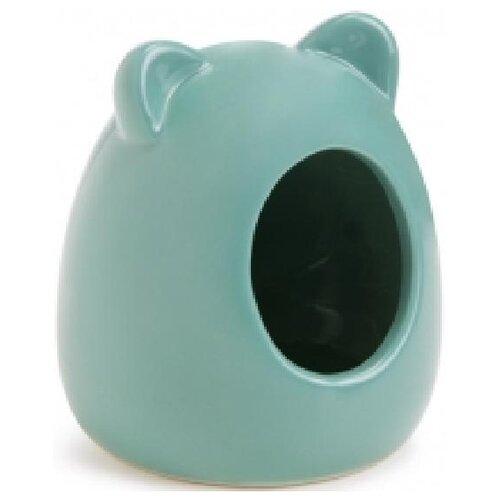Gosi sh-07374 игрушка для кошек мышка l серая с хвостом из норки этикетка кружок