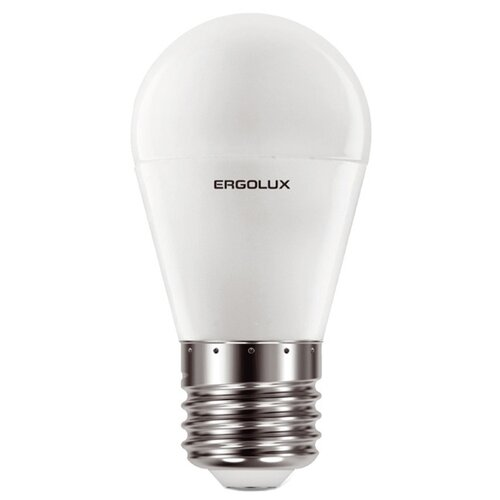 Фото - Лампочка Ergolux E27 11W 220V 6500K 1070Lm LED-G45-11W-E27-6K 13632 светодиодная лампа ergolux led g45 11w e27 6k упаковка 10 шт