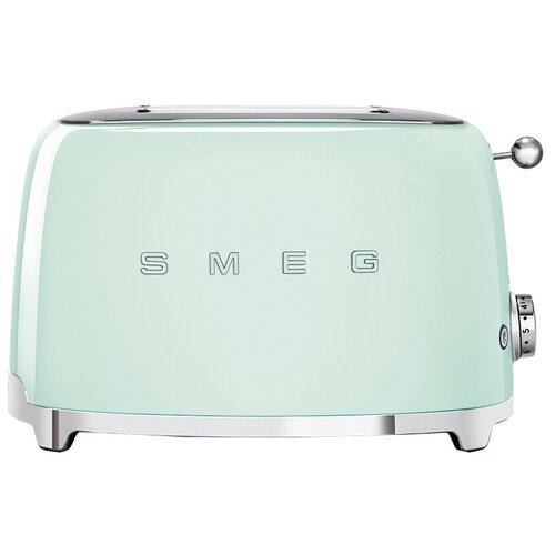 Тостер smeg TSF01PGEU пастельный зеленый