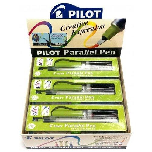 Купить Упаковка из 12 перьевых ручек для каллиграфии Parallel Pen 3.8мм, PILOT, Ручки