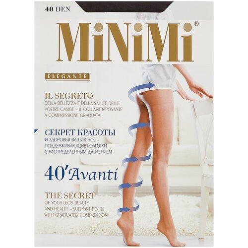 Фото - Колготки MiNiMi Avanti, 40 den, размер 4-L, fumo (серый) колготки minimi vittoria 20 den размер 4 l fumo серый