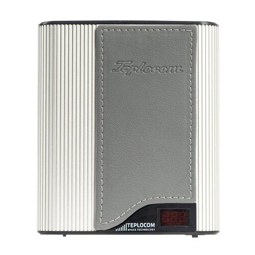 Стабилизатор напряжения однофазный Бастион Teplocom ST-555-I Western silver gray