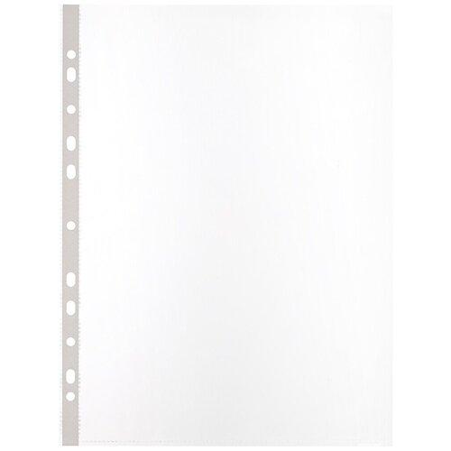 Купить Папка файл-вкладыш Attache А4, 60 мкм, S, Элементари, с перфорацией, 100 штук, Файлы и папки