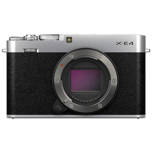 Фото - Фотоаппарат Fujifilm X-E4 Body черный/серебристый интерактивный плоскопанельный дисплей dc75 e4
