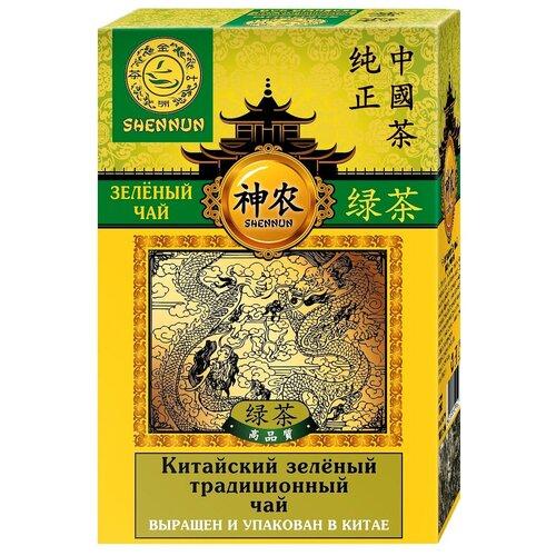 Чай зеленый Shennun Китайский традиционный, 100 г