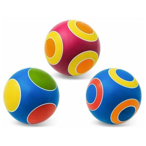 Мяч детский 15 см серия кружочки, Мячи-Чебоксары, Р3-150/Кр