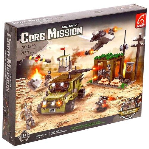Конструктор Ausini Core Mission 22714 Штурм блокпоста