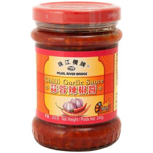 Соус Pearl River Bridge Chili garlic, 240 г соус чили pearl river bridge yellow lantern 240 г