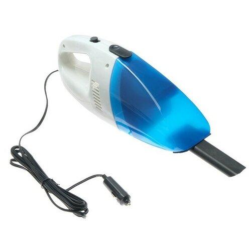 Пылесос автомобильный Torso LUC-1801, голубой/белый