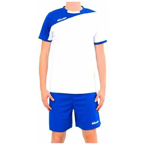 Форма волейбольная мужская MIKASA MT351 0018 KATURY MT3510018-3 размер 54 цвет белый