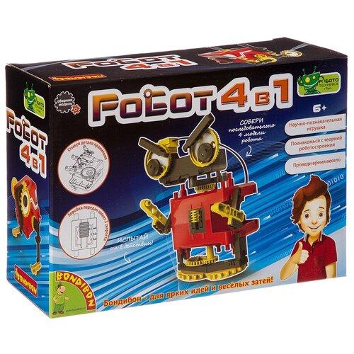 Набор BONDIBON Роботы 4 в 1 (ВВ3342) конструктор роботы 4 в 1