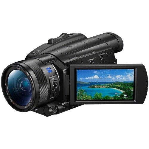 Фото - Видеокамера Sony FDR-AX700 черный видеокамера sony ilme fx3 серый черный