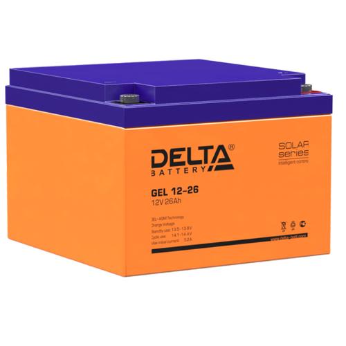 Аккумуляторная батарея DELTA Battery GEL 12-26