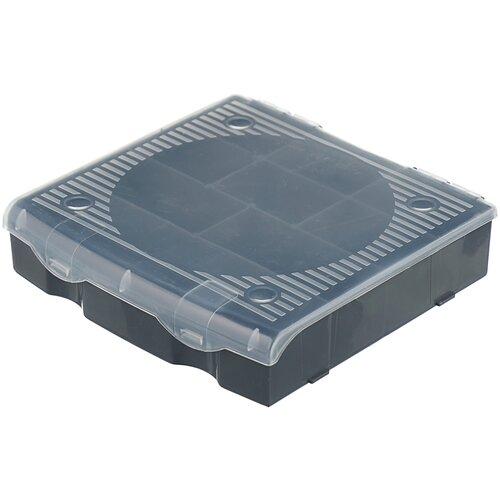 Органайзер BLOCKER для мелочей PC3711 17x16x4.5 см серый/свинцовый