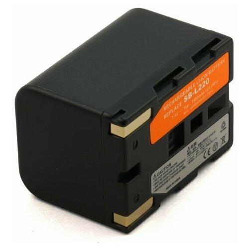 Усиленный аккумулятор для видеокамеры Samsung SB-LS110, SB-L220