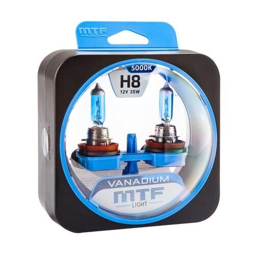 Галогеновые лампы MTF light Vanadium 5000K H8